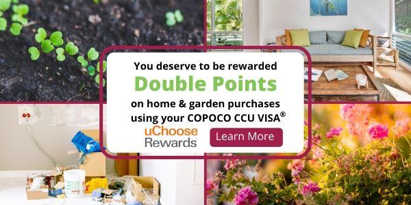 2x uChoose Rewards Home & Garden