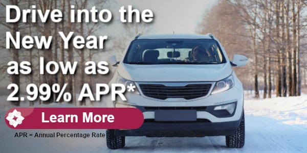 Auto loans as low as 2.99% Annual Percentage Rate