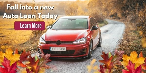 Fall into a new auto loan today!
