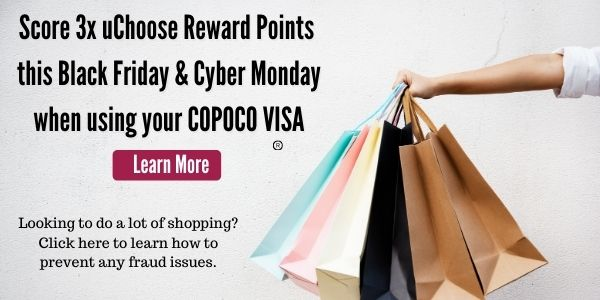 Score 3x uChoose Rewards this Black Friday & Cyber Monday