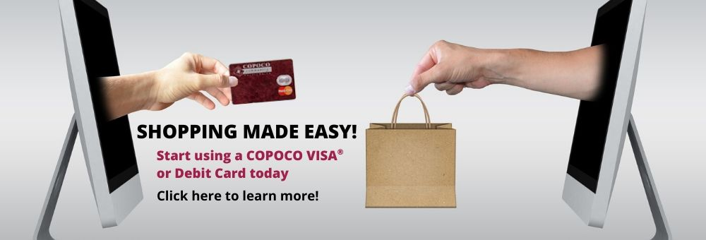 COPOCO Debit/Credit Card use